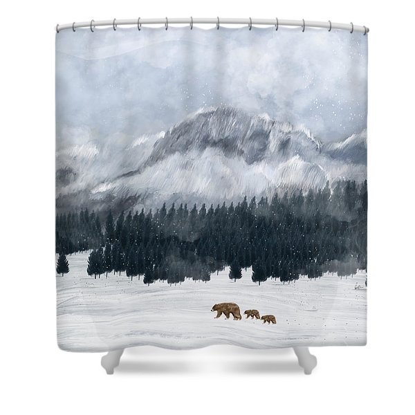 Nature Will Find A Way Shower Curtain