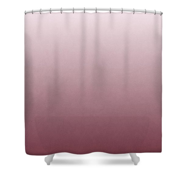Cheese Puff Face - Roseate Spoonbill Shower Curtain