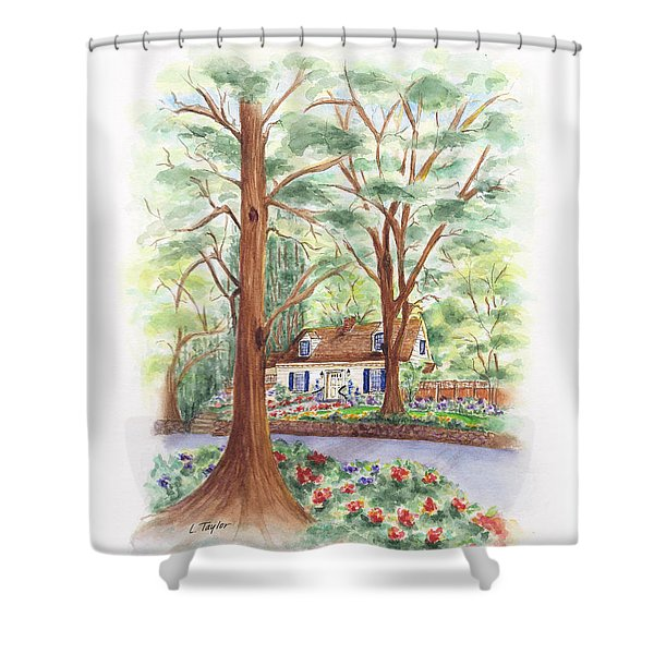 Main Street Charmer Shower Curtain