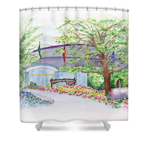 Show Time Shower Curtain