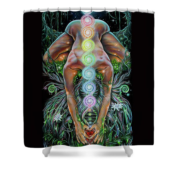 Sacred Cycle Shower Curtain