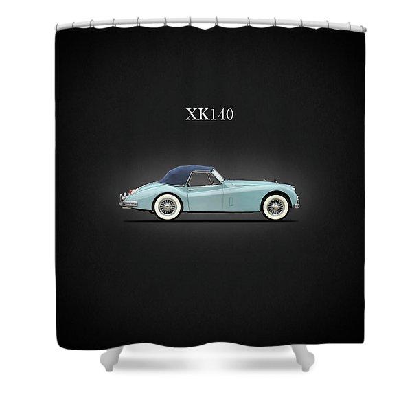 Jaguar Xk140 Shower Curtain