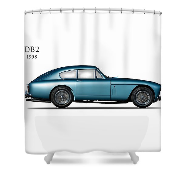 Aston Martin Db2 Shower Curtain