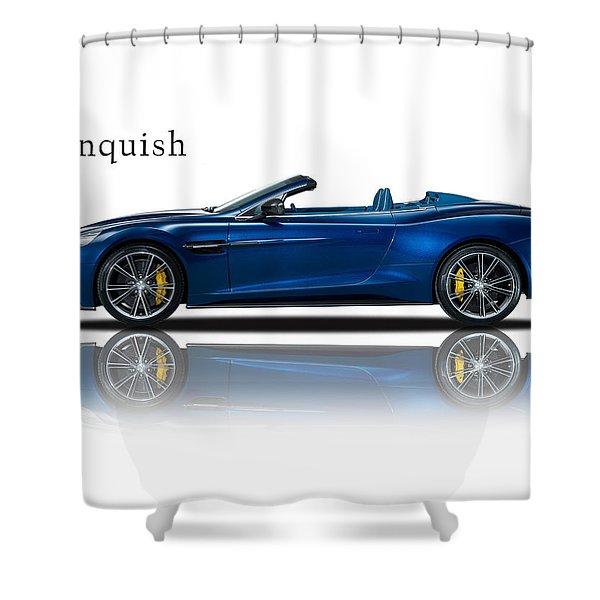 Aston Martin Vanquish Volante Shower Curtain