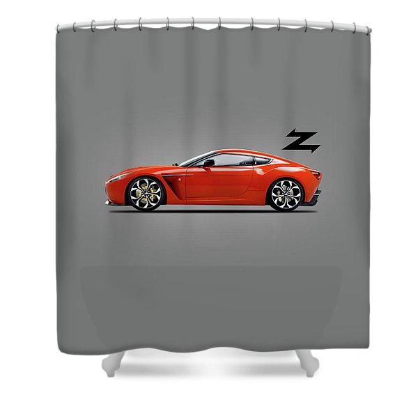 Aston Martin V12 Zagato Shower Curtain