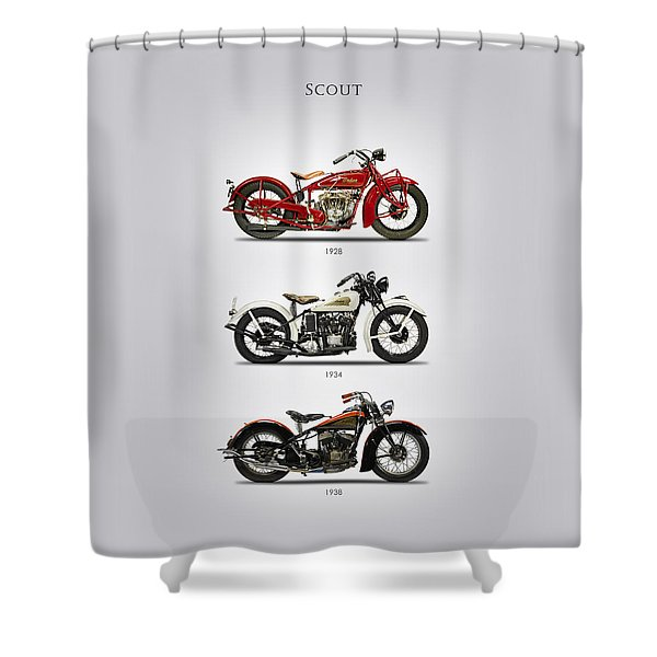 Scout Trio Shower Curtain