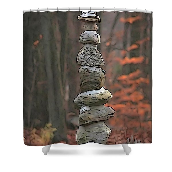 Ascention Shower Curtain