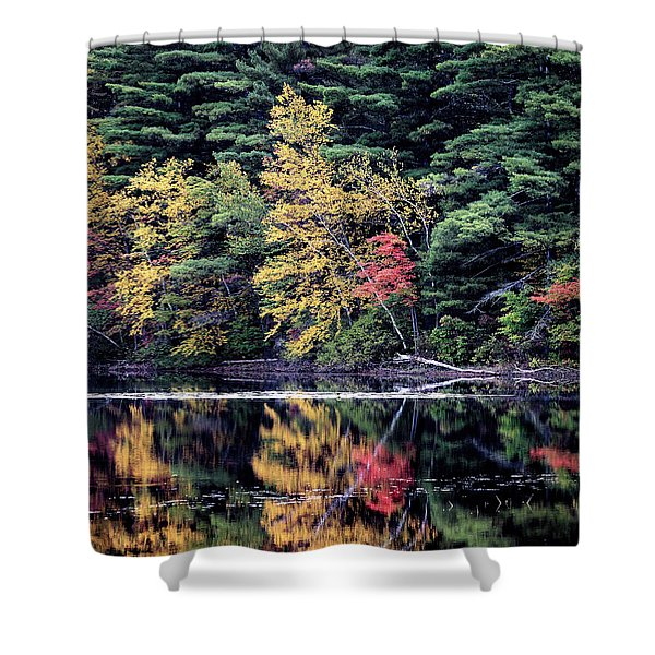 Ashley Reservoir Shower Curtain