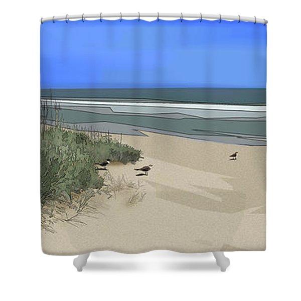 Ashore Shower Curtain