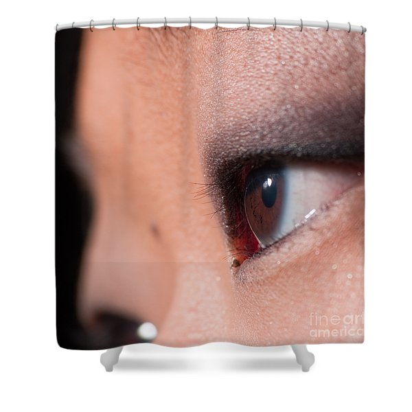 Asian Girl Eyes 1283053 Shower Curtain