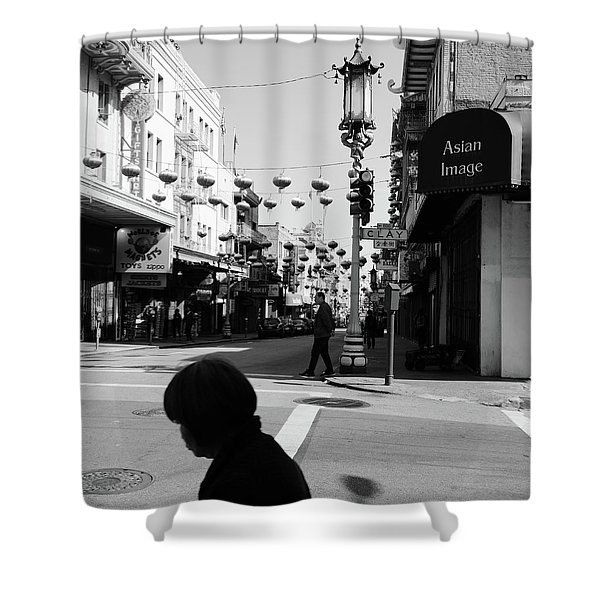 Asian Image Shower Curtain