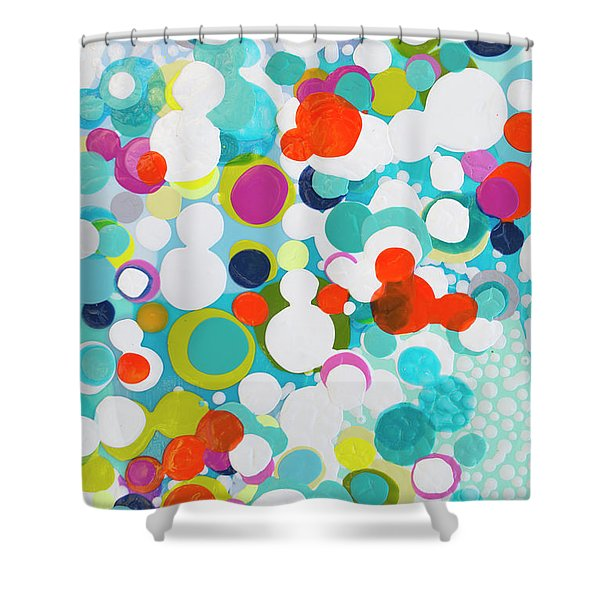 Ask Me To Dance Shower Curtain