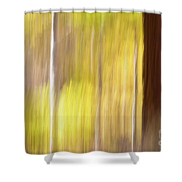 Aspen Blur #1 Shower Curtain