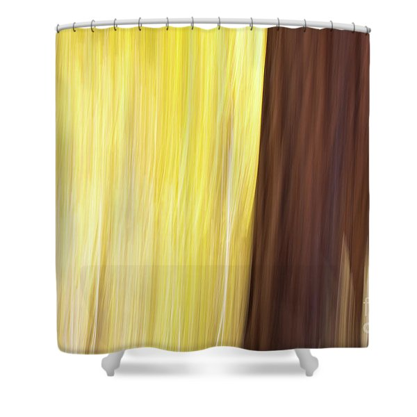 Aspen Blur #3 Shower Curtain