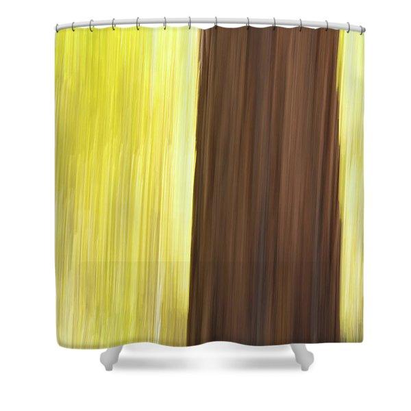 Aspen Blur #4 Shower Curtain