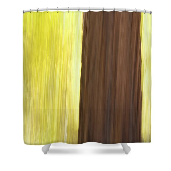 Aspen Blur #4 Shower Curtain