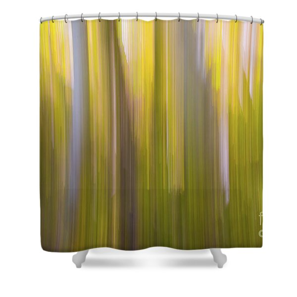 Aspen Blur #6 Shower Curtain