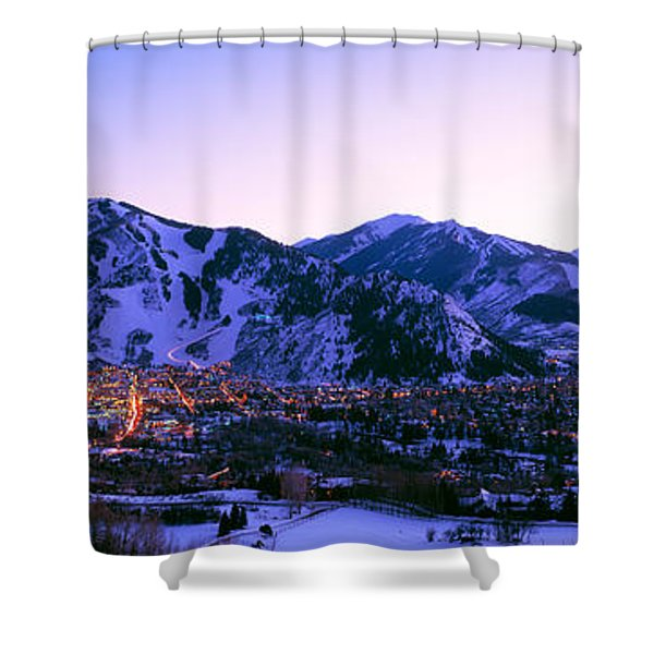 Aspen, Colorado, Usa Shower Curtain