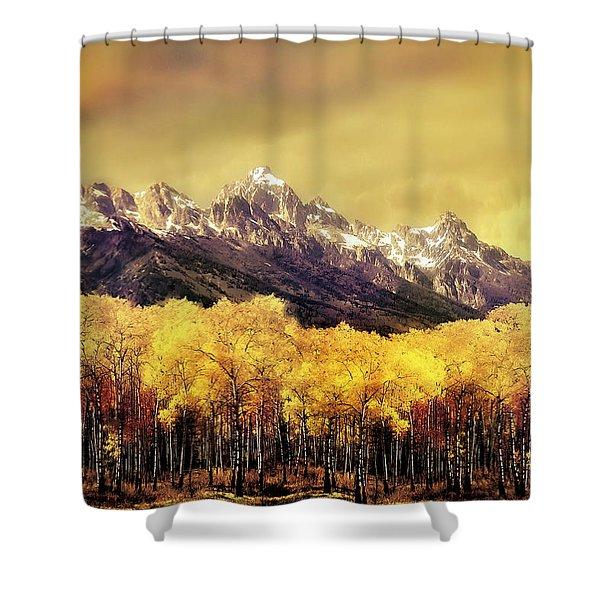 Aspen Grove Jackson Hole Shower Curtain