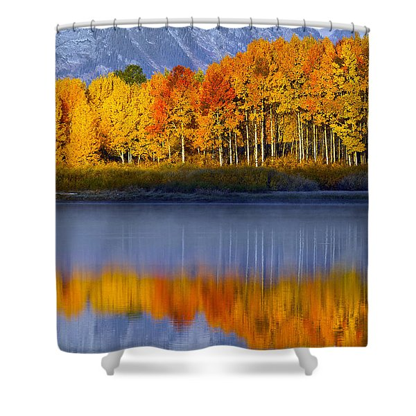Aspen Reflection Shower Curtain