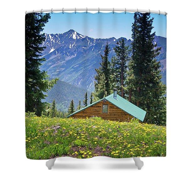 Aspen Spring Shower Curtain
