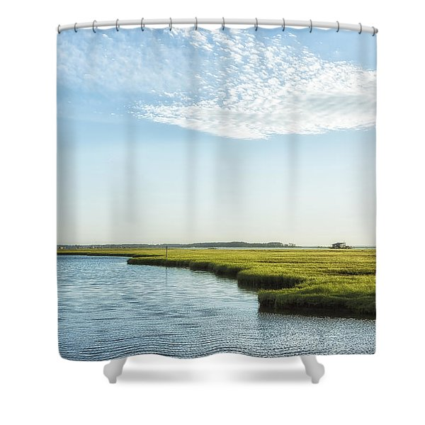 Assateague Island Shower Curtain