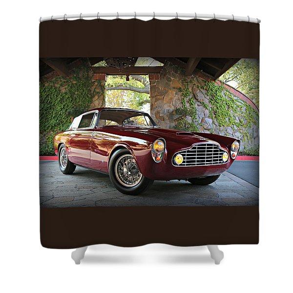 Aston Martin Db24 Allemano Shower Curtain