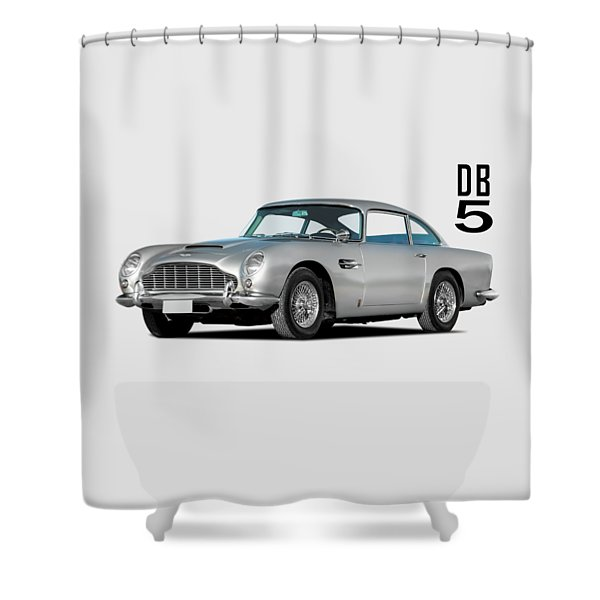 Aston Martin Db5 Shower Curtain