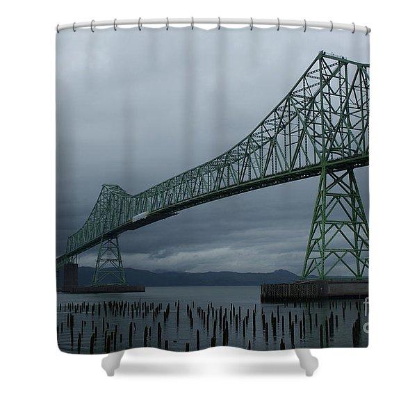 Astoria Bridge Shower Curtain