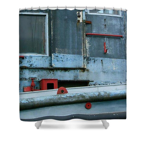 Astoria Ship Shower Curtain