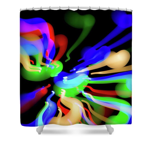 Astral Travel Shower Curtain