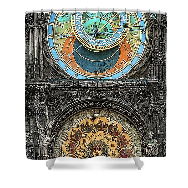 Astronomical Hours Shower Curtain