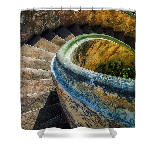 Asylum Staircase Shower Curtain