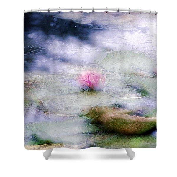 At Claude Monet's Water Garden 12 Shower Curtain