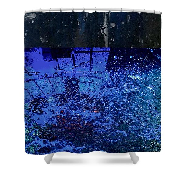 At The Car Wash 18 Shower Curtain
