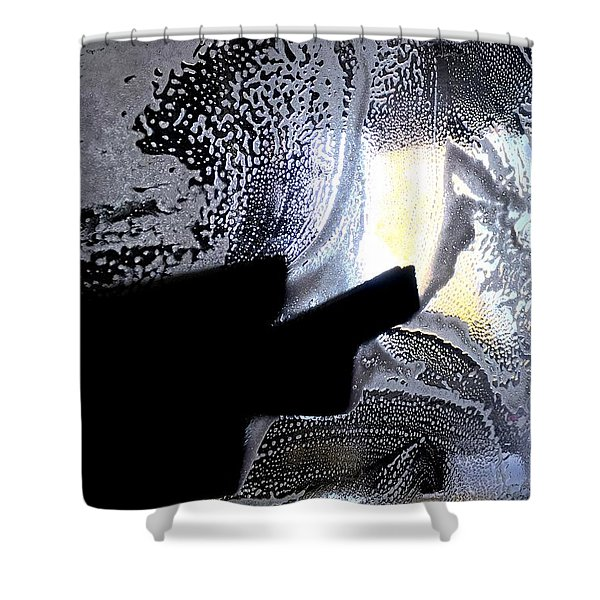 At The Car Wash 5 Shower Curtain