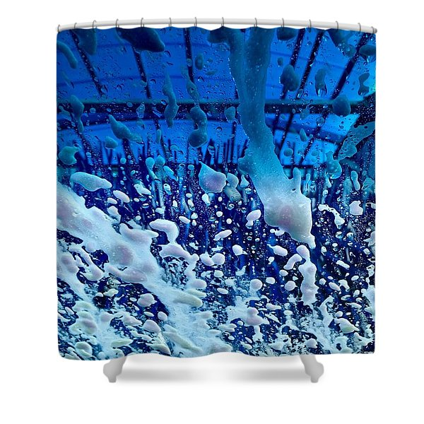 At The Car Wash 7 Shower Curtain