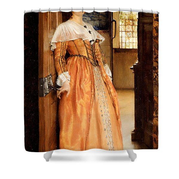 At The Doorway Shower Curtain