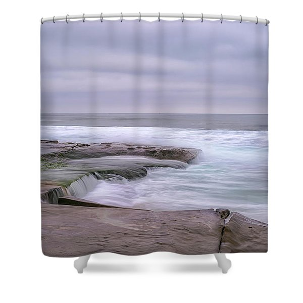 At The Edge Of The Sea Shower Curtain