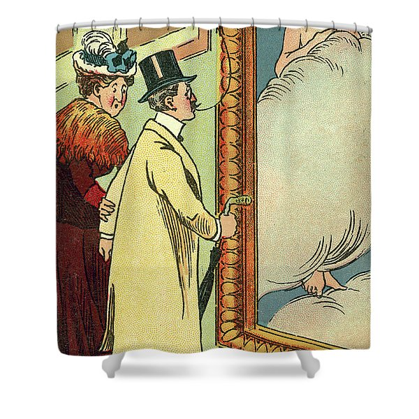 At The Gallery Shower Curtain