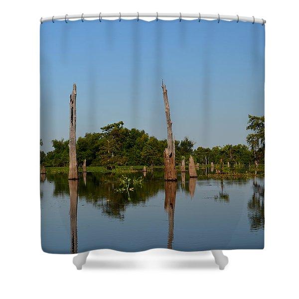 Atchafalaya Basin 18 Shower Curtain