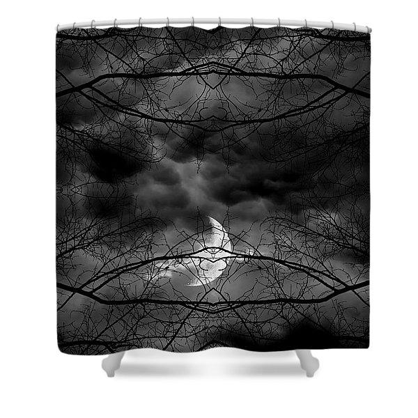 Athena's Bird Shower Curtain