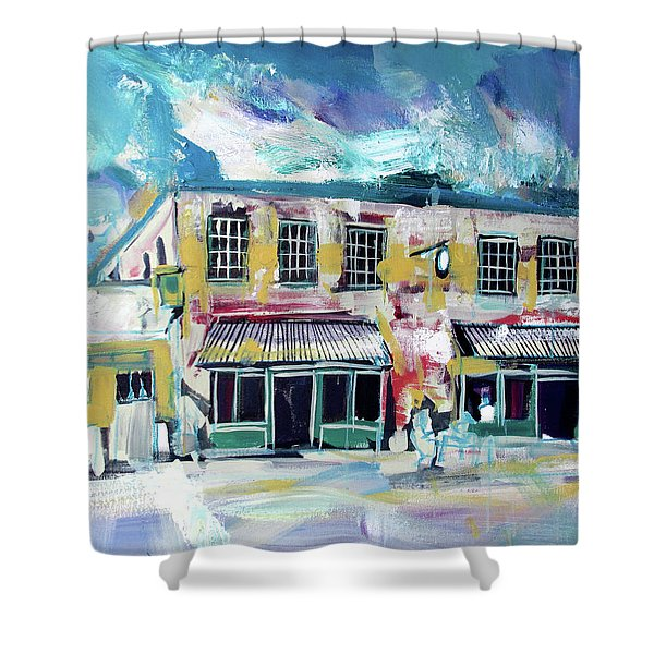 Athens Ga The Grit Shower Curtain