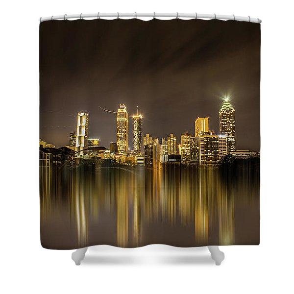 Atlanta Reflection Shower Curtain