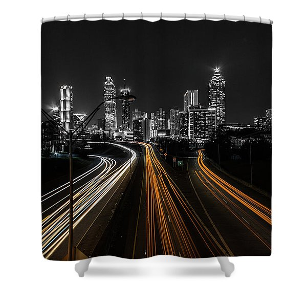 Atlanta Tones Shower Curtain