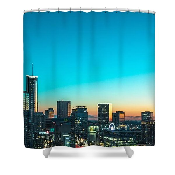 Atlanta Tonight Shower Curtain