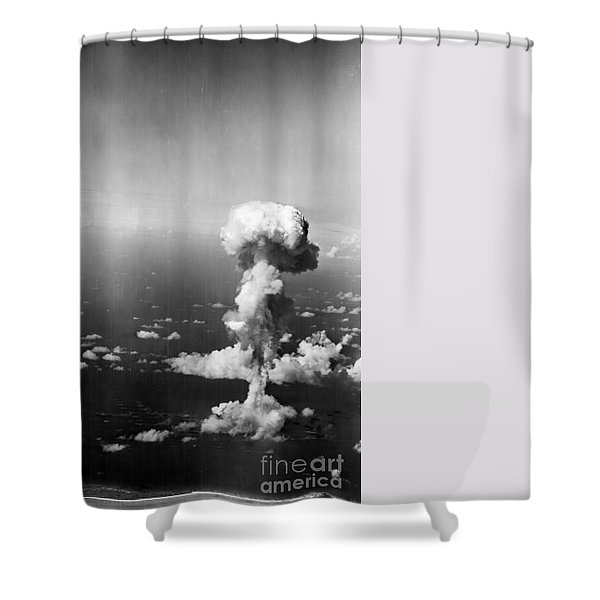Atomic Bomb Test, 1946 - To License For Professional Use Visit Granger.com Shower Curtain