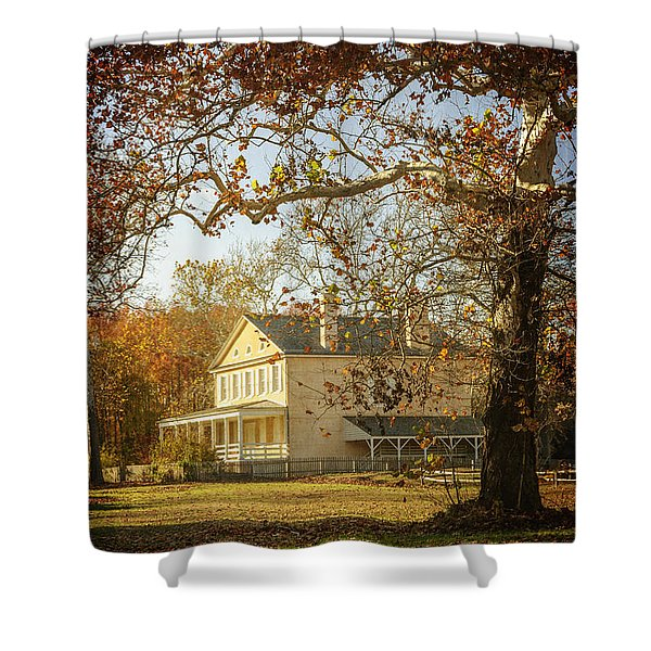 Atsion Mansion Shower Curtain