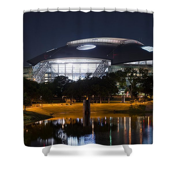 Dallas Cowboys Stadium 1016 Shower Curtain