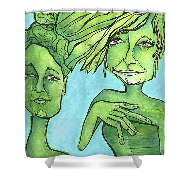 Attachment Theory Shower Curtain